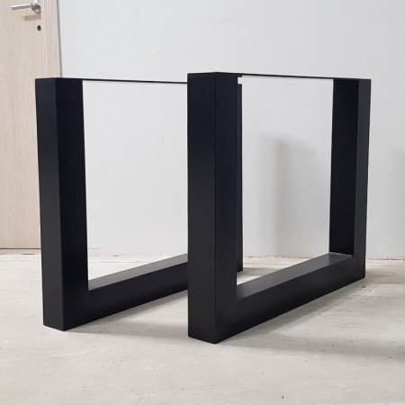 2x Metal table legs - U...