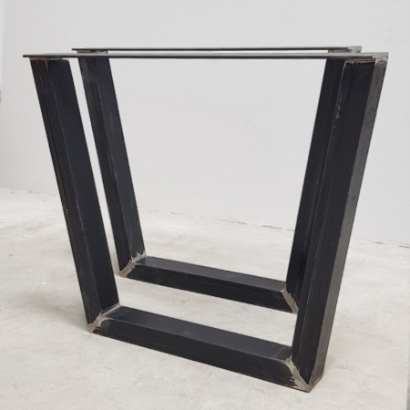 2x Metal table legs -...