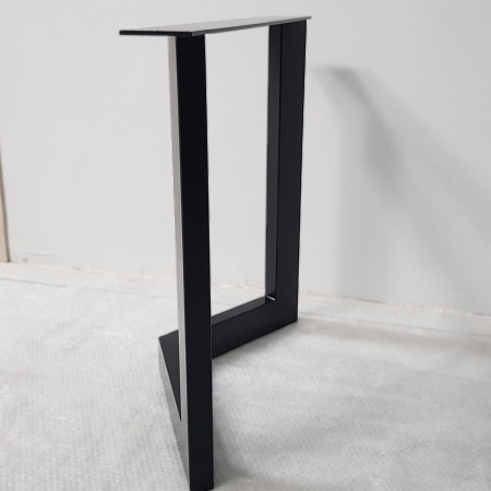 2x Metal table legs - V...