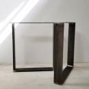 Piedi Tavolo Ferro.Piedi Per Tavolo In Stile Industriale Gambe Forma U U10020