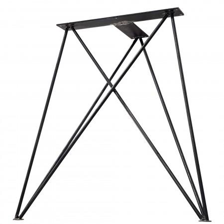 2x Metal table legs - M...