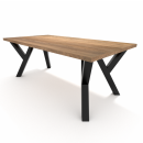 4x Pieds de table en métal...