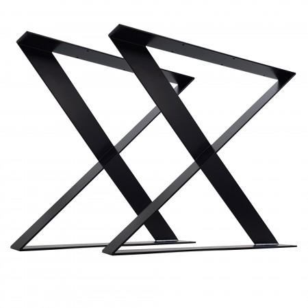 2 x Metal table legs, Z...