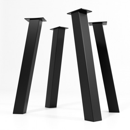 4x Metal table legs- I...