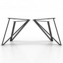 4x Metal table legs - V...