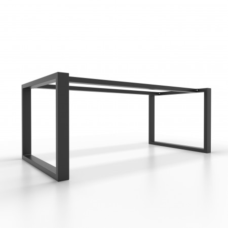 2x Metal table legs with...